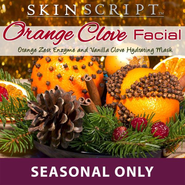 Seasonal Orange Clove Facial