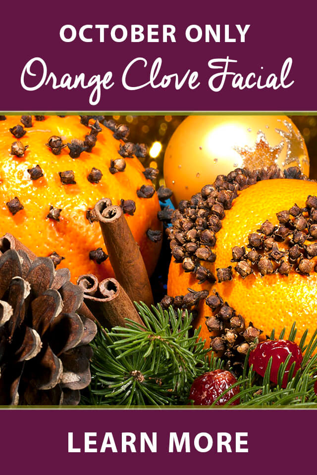 Seasonal Orange Clove Facial
